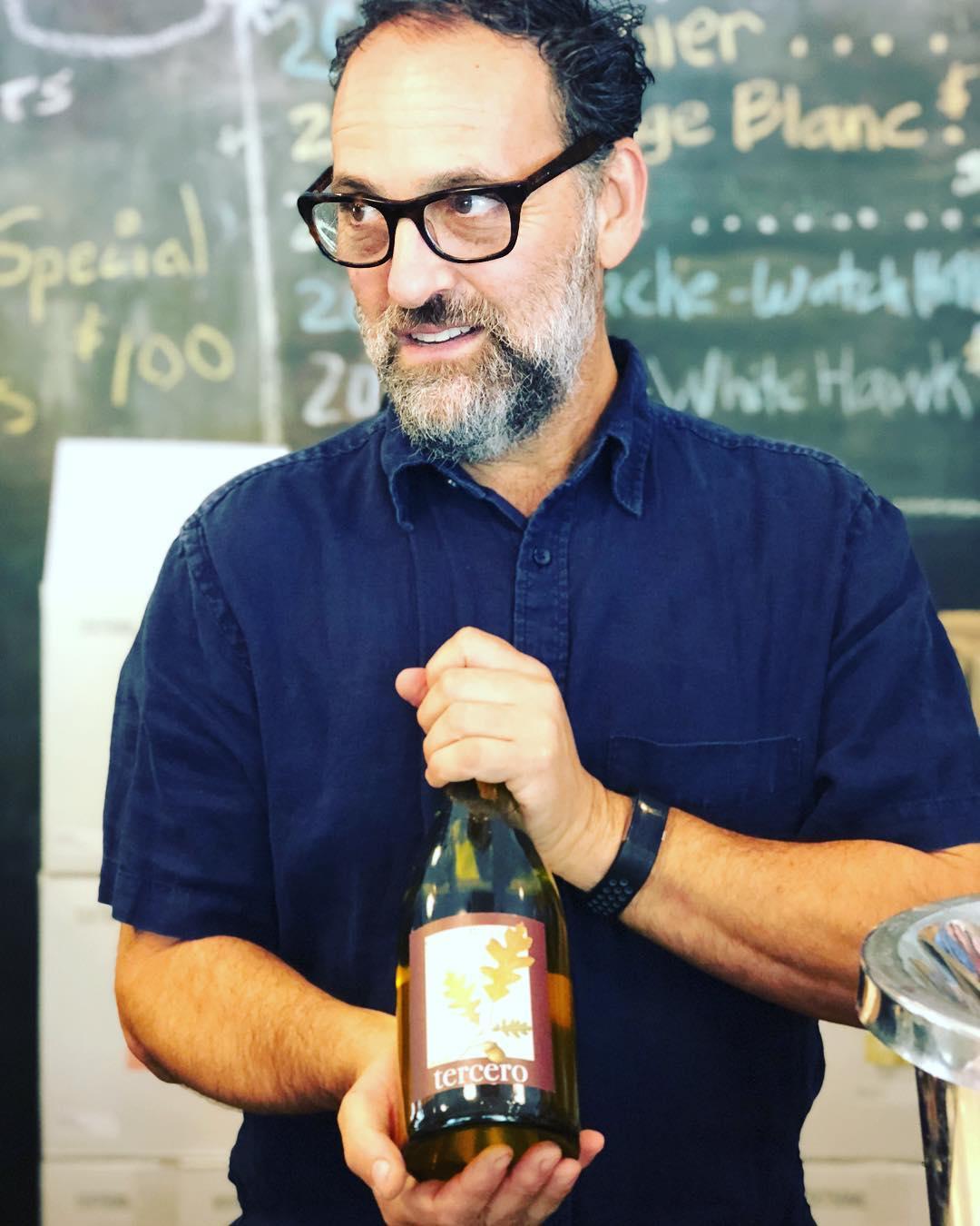 Winemaker Larry Schaffer